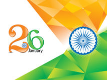 Abstract indian republic day background Royalty Free Stock Photo
