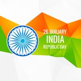 Abstract indian republic day  vector design illustration. Abstract indian republic day design vector design illustration Stock Illustration
