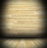 Abstract indoor view of wood cabin Stock Image