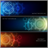 Abstract Industrial Background Set Stock Images