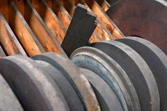Abstract industrial background Royalty Free Stock Images
