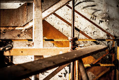 Abstract industrial interior Stock Photo