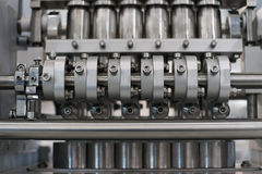 Abstract industrial mechanical device Royalty Free Stock Photos