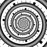 Abstract infinity Spiral Spirals Endless Stock Photography