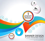 Abstract info graphic background Royalty Free Stock Image