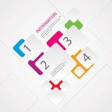 Abstract Info graphic Stock Photo