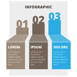 Abstract infographic chart Royalty Free Stock Photo