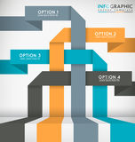 Abstract Infographic Royalty Free Stock Images