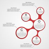 Abstract infographic. Design elements. Stock Photos