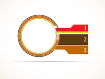 Abstract infographic Stock Photography
