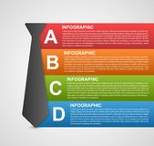 Abstract infographic options banner. Design elements. Stock Photos