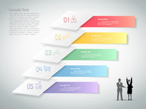 Abstract infographic template. can be used forworkflow, layout, diagram Royalty Free Stock Photo