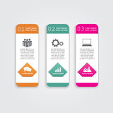 Abstract infographic. Vector illustration Royalty Free Stock Images