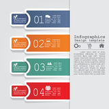 Abstract infographic. Vector illustration Eps8 Royalty Free Stock Photo