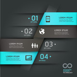 Abstract infographics communication technology. Stock Photo