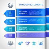 Abstract infographics design elements Stock Photography