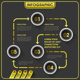 Abstract infographics design Royalty Free Stock Photos