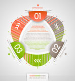 Abstract infographics design Royalty Free Stock Image