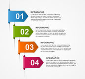 Abstract infographics design template. Royalty Free Stock Photo