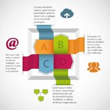 Abstract infographics element. Abstract design infographics element. This is file of EPS8 format Stock Images