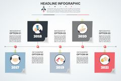 Abstract infographics number options template. Vector illustrati. On. Can be used for workflow layout, diagram, business step options, banner, web design vector illustration