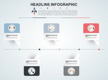 Abstract infographics number options template. Vector illustrati. On. Can be used for workflow layout, diagram, business step option, banner, web design vector illustration