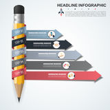 Abstract infographics number options template. Vector   Stock Photography