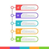 Abstract infographics options template vector illustration 1. Abstract infographics options template vector illustration Stock Photography