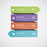 Abstract infographics Stock Photos