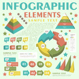 Abstract infographics Stock Image