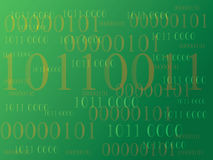 Abstract information background with binary code. Green technology. Abstract information background with binary code. Green technology Royalty Free Stock Photo