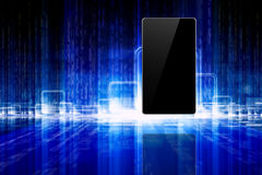 Abstract tablet, smartphone Royalty Free Stock Photography