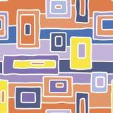 Abstract inheems wit wegen vector naadloos patroon vector illustratie
