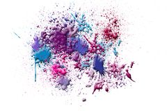 Abstract ink splash Stock Image
