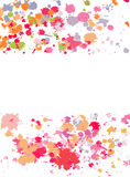 Abstract ink splats Royalty Free Stock Photos
