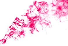 Abstract ink in water isolated Stock Image