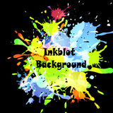 Abstract inkblot background Stock Photos