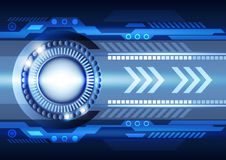 Abstract innovation technology background. Vector illustration Royalty Free Stock Image
