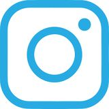 Abstract Instagram logo on white. Background. Abstract logo design illustration vector illustration