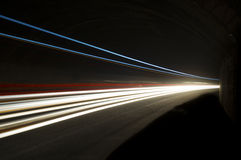 Abstract and interesting art concentration of light royalty free stock photos