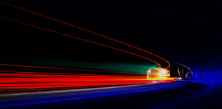 Abstract and interesting art concentration of lights Royalty Free Stock Photography