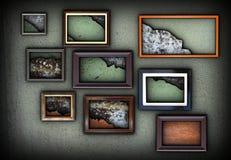Abstract interior art backdrop Stock Image