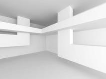 Abstract Interior Background. Futuristic Architecture Stock Photos