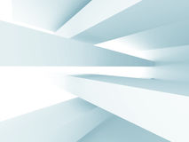 Abstract Interior Background. Futuristic Architecture Royalty Free Stock Image