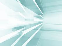 Abstract Interior Background. Futuristic Design Architecture Stock Image