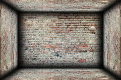 Abstract interior brick finishing backdrop Royalty Free Stock Images