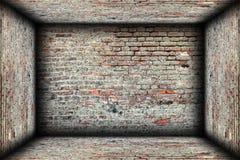 Abstract interior brick finishing backdrop royalty free stock images