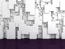 Abstract interior composition. Royalty Free Stock Photography