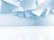 Abstract Interior Design Architecture Background. 3d Render Illustration vector illustration