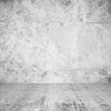 Abstract interior of empty room with white walls Stock Image